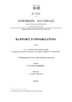 Rapport d'information sur la Francophonie : action culturelle, éducative et économique