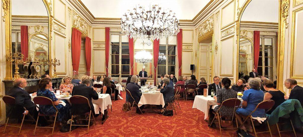 Cercle Richelieu Senghor, vue d'ensemble du dîner